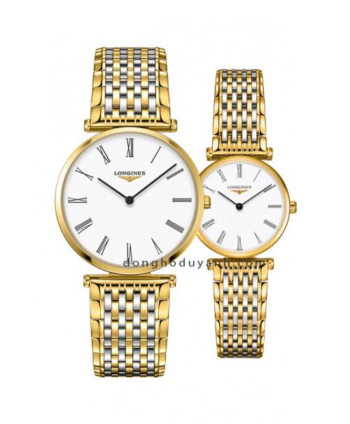 Đồng hồ đôi Longines L4.755.2.11.7 và L4.209.2.11.7