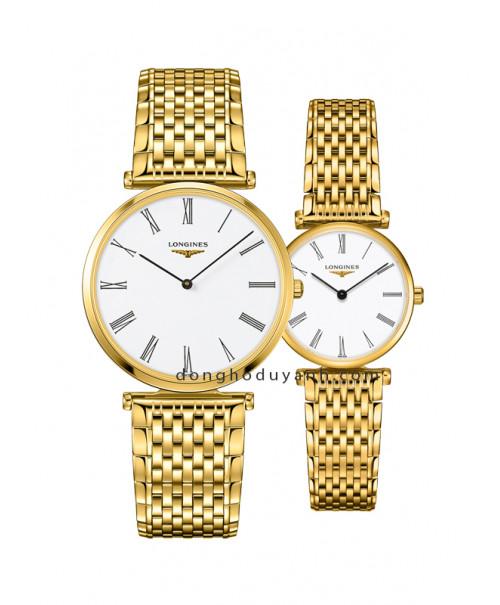 Đồng hồ đôi Longines L4.755.2.11.8 và L4.209.2.11.8