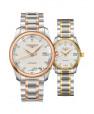 Đồng hồ đôi Longines Master L2.793.5.77.7 và L2.257.5.77.7 small