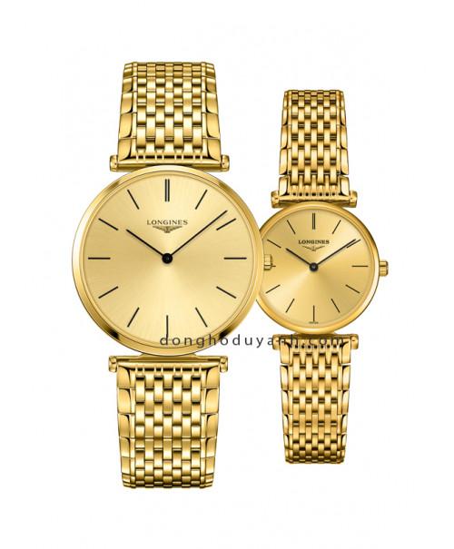 Đồng hồ đôi Longines L4.755.2.32.8 và L4.209.2.32.8
