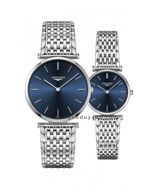 Đồng hồ đôi Longines L4.755.4.95.6 và L4.209.4.95.6