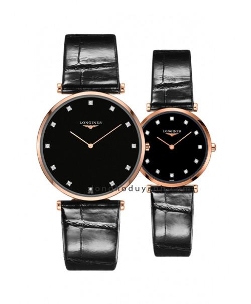 Đồng hồ đôi Longines L4.766.1.57.2 và L4.512.1.57.2