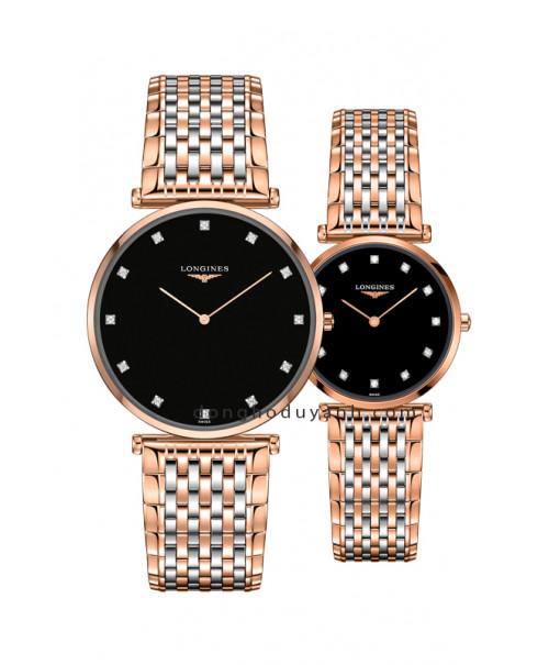 Đồng hồ đôi Longines L4.766.1.57.7 và L4.512.1.57.7