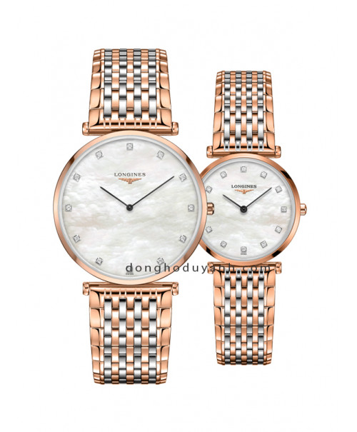 Đồng hồ đôi Longines L4.766.1.97.7 và L4.512.1.97.7