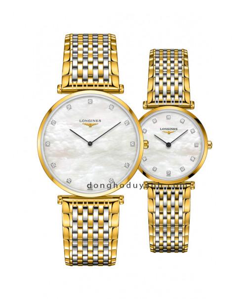 Đồng hồ đôi Longines L4.766.2.87.7 và L4.512.2.87.7