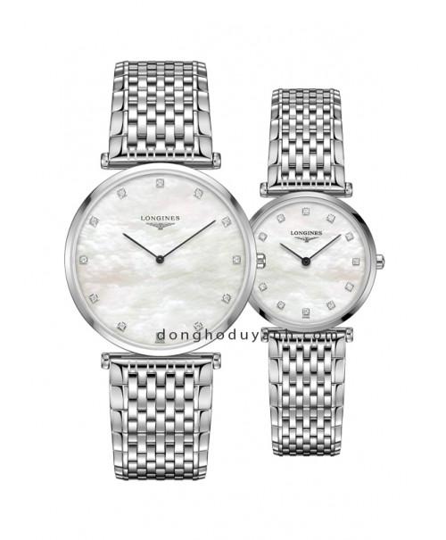 Đồng hồ đôi Longines L4.766.4.87.6 và L4.512.4.87.6
