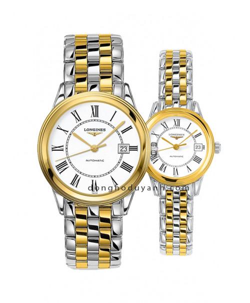 Đồng hồ đôi Longines L4.874.3.21.7 và L4.274.3.21.7