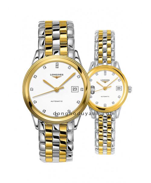 Đồng hồ đôi Longines L4.874.3.27.7 và L4.274.3.27.7