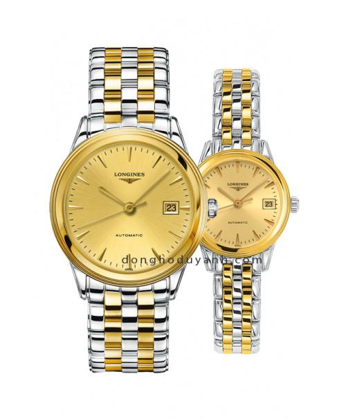 Đồng hồ đôi Longines L4.874.3.32.7 và L4.274.3.32.7