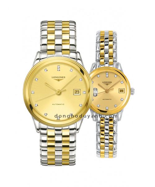 Đồng hồ đôi Longines L4.874.3.37.7 và L4.274.3.37.7
