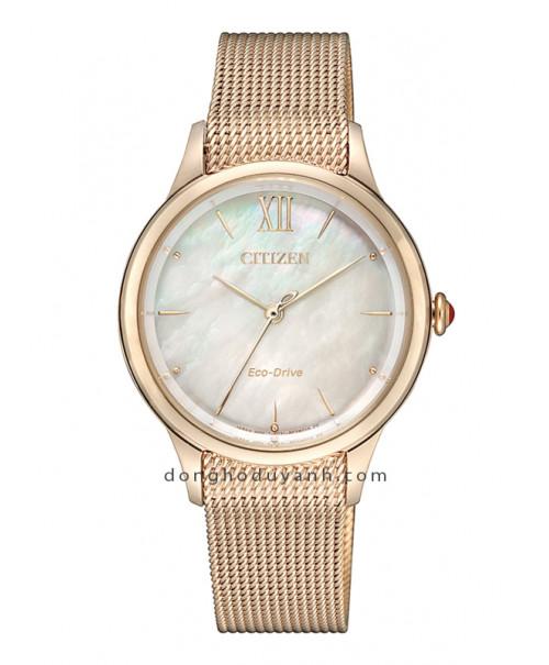 Đồng hồ Citizen Eco-Drive EM0813-86Y