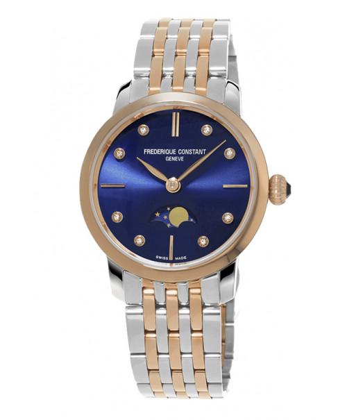 Đồng hồ Frederique Constant Slimline Moonphase FC-206ND1S2B