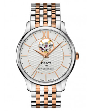 Tissot Tradition Powermatic 80 Open Heart T063.907.22.038.01
