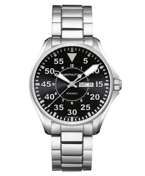 Hamilton Khaki Aviation Pilot Day Date H64611135