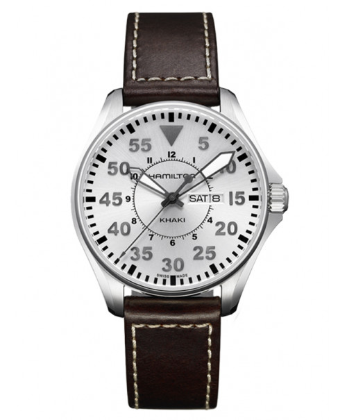 Hamilton Khaki Aviation Pilot Day Date H64611555