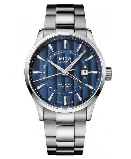 MIDO Multifort Dual Time GMT M038.429.11.041.00