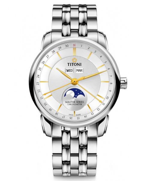 Titoni Master Moon Phase 94588 S-635