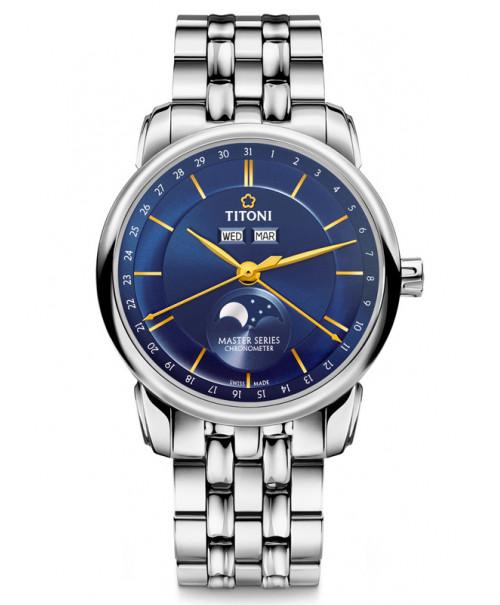 Titoni Master Moon Phase 94588 S-636