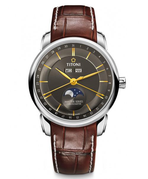 Titoni Master Moon Phase 94588 S-ST-637