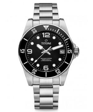 Titoni Seascoper 600 83600 S-BK-256