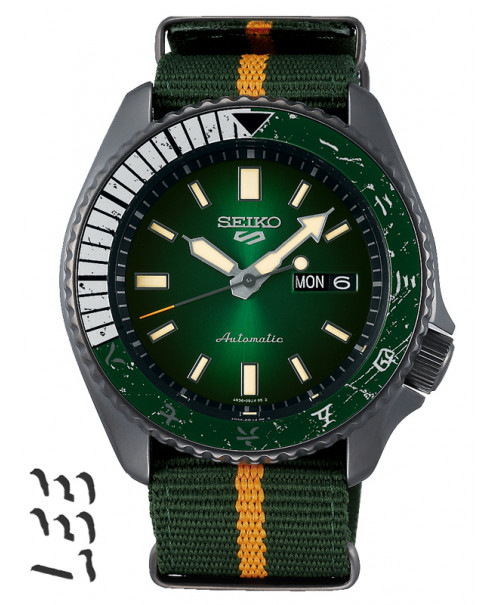 Seiko 5 Sports ROCK LEE Limited Edition SRPF73K1