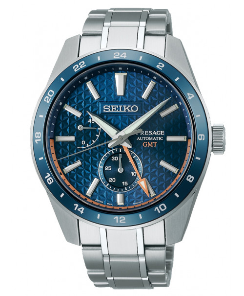 Seiko Presage Sharp Edged GMT SPB217J1