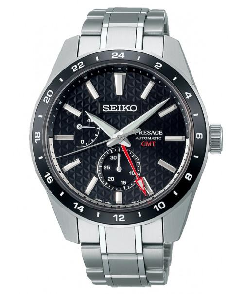 Seiko Presage Sharp Edged GMT SPB221J1