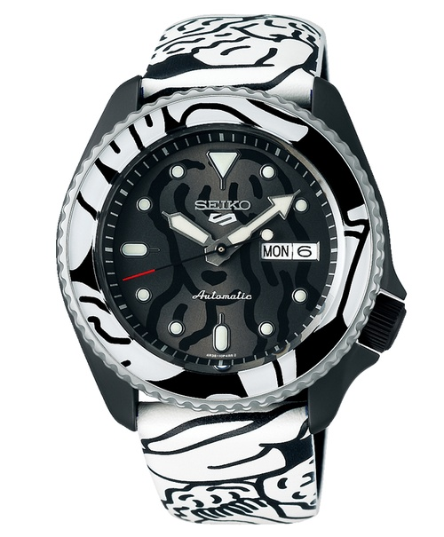 Seiko 5 Sports AUTO MOAI  Limited Edition SRPG43K1