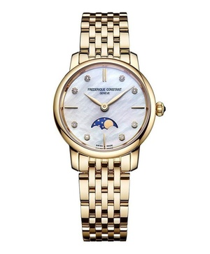Đồng hồ Frederique Constant Slimline Moonphase FC-206MPWD1S5B