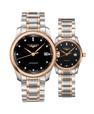 Đồng hồ đôi Longines Master L2.793.5.57.7 và L2.257.5.59.7 small
