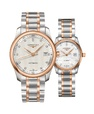 Đồng hồ đôi Longines Master L2.793.5.77.7 và L2.257.5.89.7 small