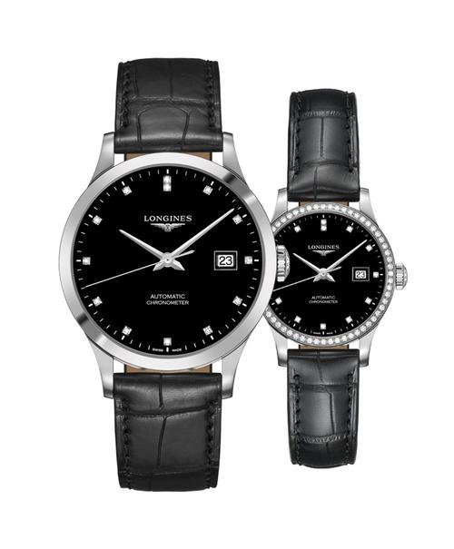 Đồng hồ đôi Longines Record L2.821.4.57.2 và L2.321.0.57.2