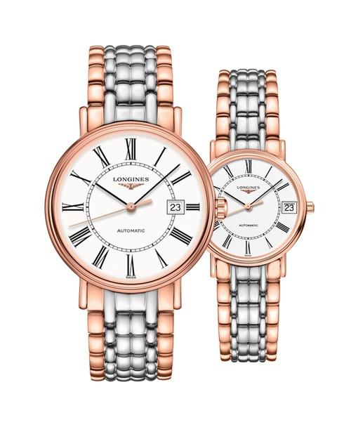 Đồng hồ đôi Longines Présence L4.922.1.11.7 và L4.322.1.11.7