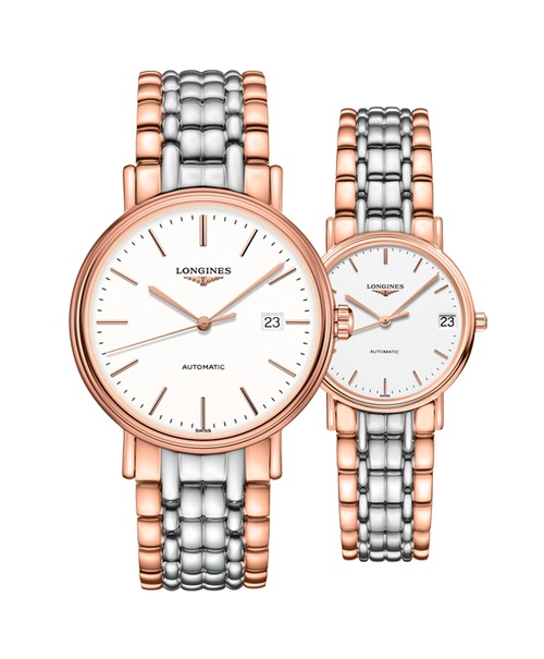 Đồng hồ đôi Longines Présence L4.922.1.12.7 và L4.322.1.12.7
