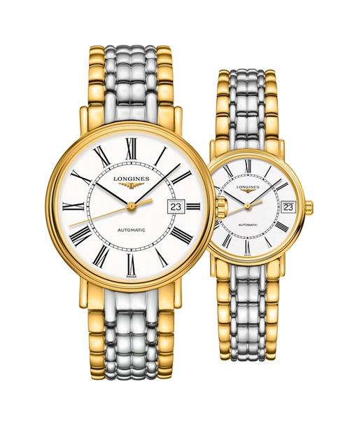 Đồng hồ đôi Longines Présence L4.922.2.11.7 và L4.322.2.11.7