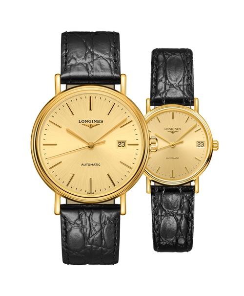 Đồng hồ đôi Longines Présence L4.922.2.32.2 và L4.322.2.32.2