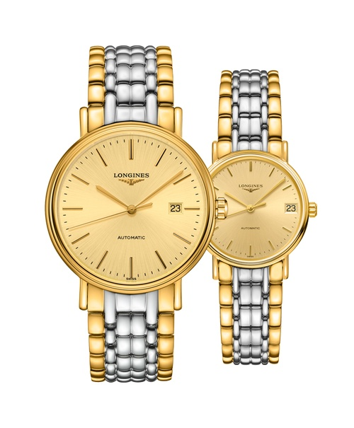 Đồng hồ đôi Longines Présence L4.922.2.32.7 và L4.322.2.32.7