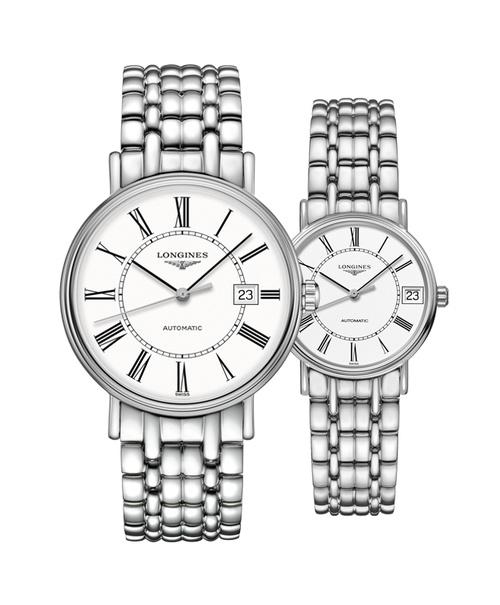 Đồng hồ đôi Longines Présence L4.922.4.11.6 và L4.322.4.11.6
