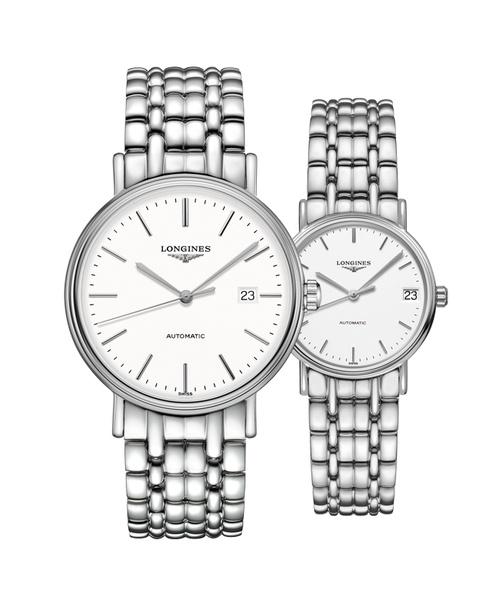 Đồng hồ đôi Longines Présence L4.922.4.12.6 và L4.322.4.12.6