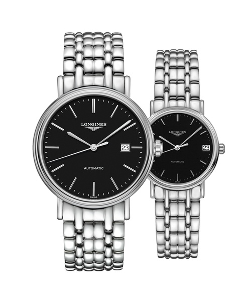 Đồng hồ đôi Longines Présence L4.922.4.52.6 và L4.322.4.52.6