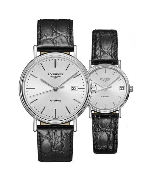 Đồng hồ đôi Longines Présence L4.922.4.72.2 và L4.322.4.72.2