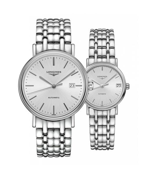 Đồng hồ đôi Longines Présence L4.922.4.72.6 và L4.322.4.72.6