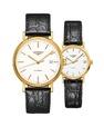 Đồng hồ đôi Longines Présence L4.922.2.12.2 và L4.322.2.12.2 small