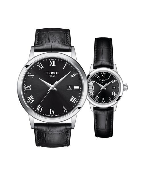 Đồng hồ đôi Tissot Classic Dream T129.410.16.053.00 và T129.210.16.053.00