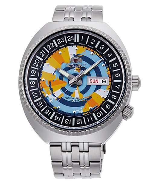 Orient Revival World Map RA-AA0E04Y09B
