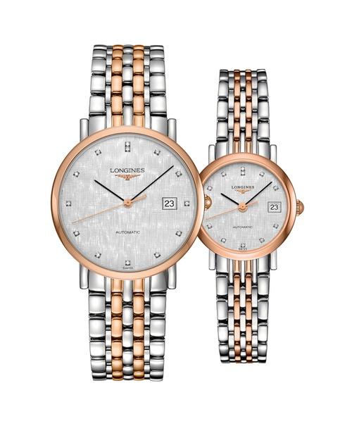 Đồng hồ đôi Longines Elegant L4.810.5.77.7 và L4.309.5.77.7