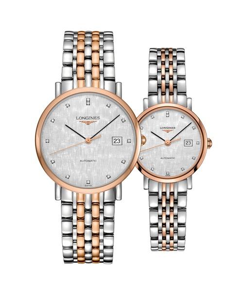 Đồng hồ đôi Longines Elegant L4.810.5.77.7 và L4.310.5.77.7