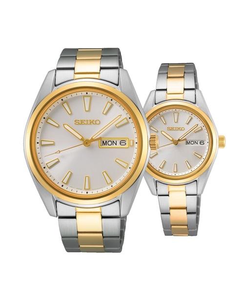 Đồng hồ đôi Seiko SUR446P1S và SUR454P1S