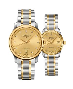Đồng hồ đôi Longines Master L2.628.5.37.7 và L2.257.5.37.7