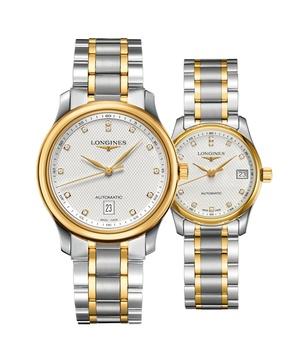 Đồng hồ đôi Longines Master L2.628.5.77.7 và L2.257.5.77.7